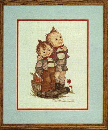 M.I. Hummel - Max and Moritz - Cross Stitch Kit