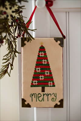Hodgepodge Cottage - Merry - Cross Stitch Pattern