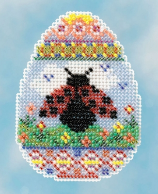 Mill Hill - Seasonal Bouquet Series - Ladybug Egg Kit