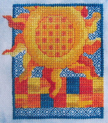 Miles To Go - Shine On Summer - Cross Stitch Pattern