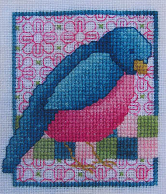 Miles To Go - Sweet Songbird - Cross Stitch Pattern