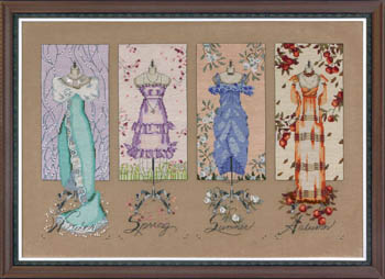 Mirabilia - Dressmaker's Daughter - Cross Stitch Chart