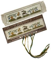 Nikyscreations Primitives - Bunny Ruler Kit-Nikyscreations Primitives, Bunny Ruler Kit, pin cushion, cross stitch accessories,