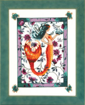 Nora Corbett Designs - Sunrise Laguna Mermaid - Cross Stitch Pattern