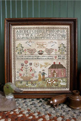 Heartstring Samplery - Never Let you Go - Cross Stitch Pattern