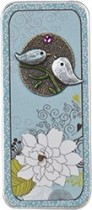 Just Nan - Kissing Birds Embellished Needle Slide