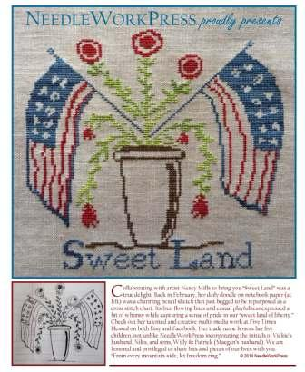 NeedleWorkPress - Sweet Land - Cross Stitch Chart
