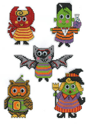 Imaginating - Scary Friends - Cross Stitch Pattern