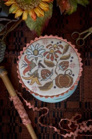 Plum Street Samplers - Autumn Posey - Cross Stitch Pattern
