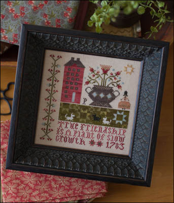 Plum Street Samplers - True Friendship - Cross Stitch Pattern