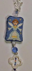 Praiseworthy Stitches - Angel Blessings Fob - Limited Edition Kit