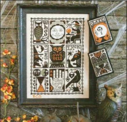 Prairie Schooler - Hocus Pocus - Cross Stitch Pattern