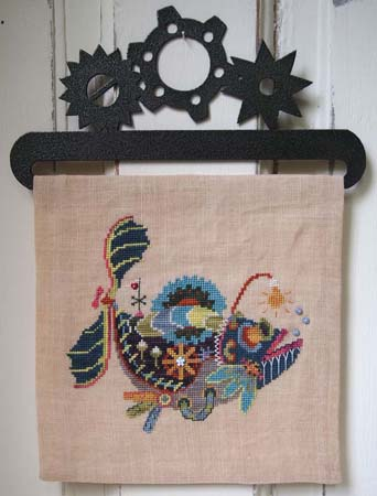 SamSarah Design Studio - Steam Punk Sea Serpent - Cross Stitch Pattern