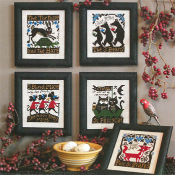 Prairie Schooler - Fables & Tales - Cross Stitch Patterns