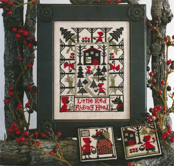 Prairie Schooler - Little Red Riding Hood - Cross Stitch Patterns