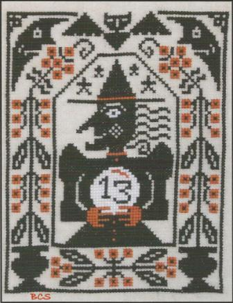 Prairie Schooler - Miss Fortune - Cross Stitch Pattern