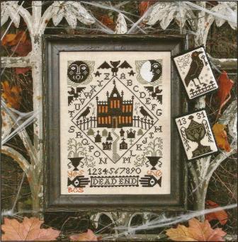 Prairie Schooler - Nevermore - Cross Stitch Pattern