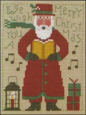 Prairie Schooler - 2014 Santa - Cross Stitch Pattern