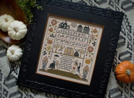 Plum Street Samplers - Jack's Bash - Cross Stitch Pattern