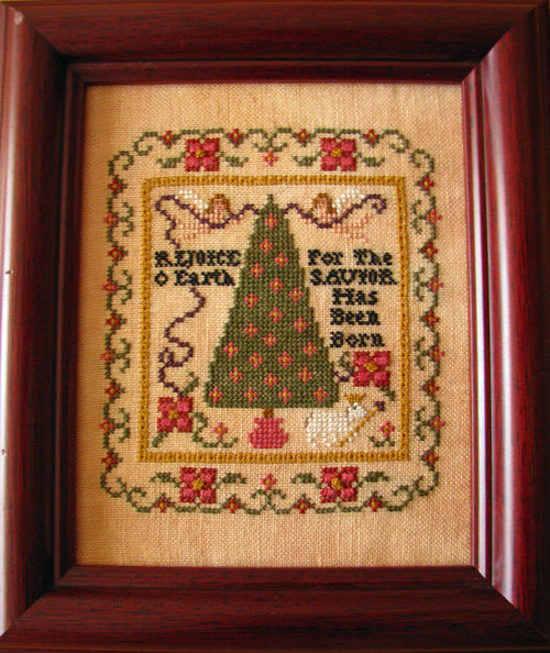 Plum Street Samplers - Rejoice - Cross Stitch Pattern