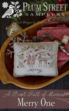 Plum Street Samplers - Serial Bowl Collection - A Bowl Full of Merries - Merry One