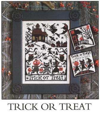 Prairie Schooler - Trick or Treat - Cross Stitch Pattern