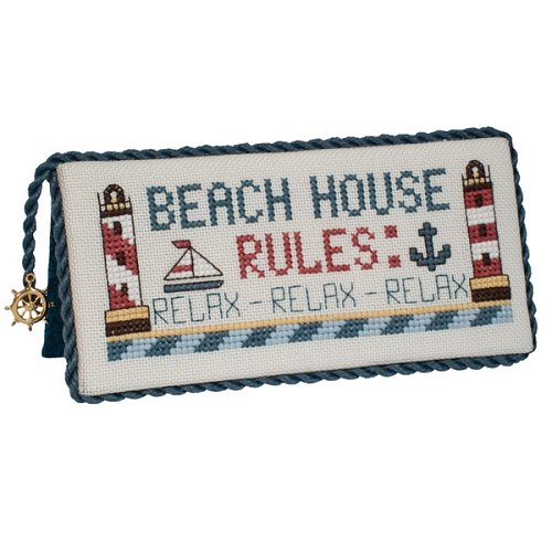Stoney Creek - Beach House Rules - Cross Stitch Chart