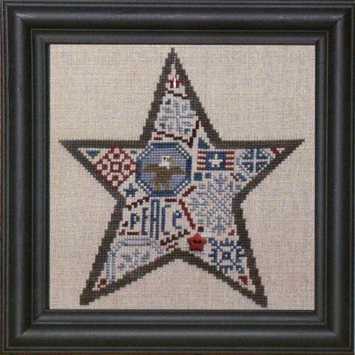 Bent Creek - Quaker Star - Cross Stitch Chart