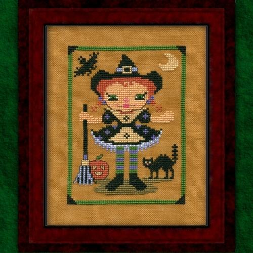 Carousel Charts - RagAnee Halloween - Cross Stitch Chart