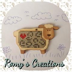Romy's Creations - Stitch-in-Wood - Sheep