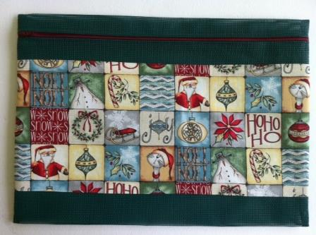 Stitch-A-Gift - Christmas Whimsey 2 - Project Bag