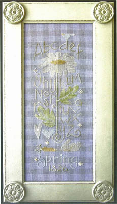 SamSarah Design Studio - Sadie Stuart - Spring Flower Sampler - Cross Stitch Pattern