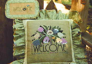 SamSarah Design Studio - Spring Welcome - Cross Stitch Pattern