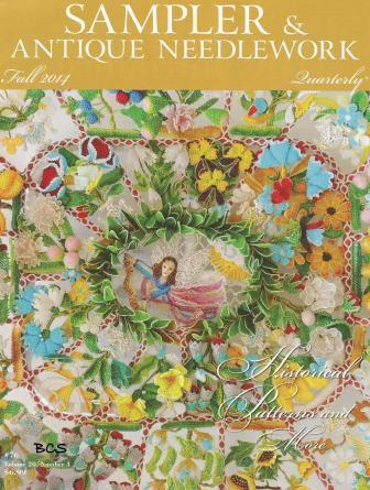 Sampler & Antique Needlework Quarterly - 2014 - 3nd Qtr - Fall 2014