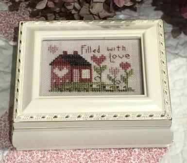 Shepherd's Bush - Filled With Love Kit-Shepherds Bush - Filled With Love Kit, home, love,  cross stitch,