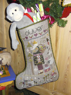 Shepherd's Bush - Oliver's Stocking - Cross Stitch Pattern