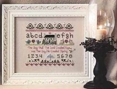 The Stitching Bear - Spring Sampler - Cross Stitch Pattern