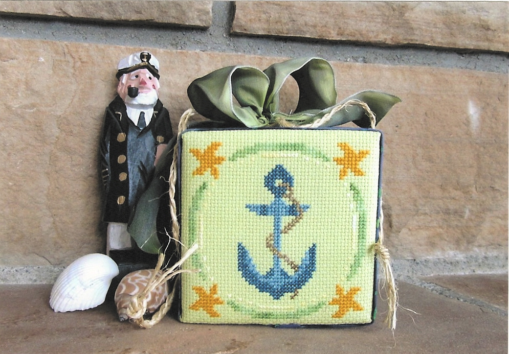 Designs by Lisa - Anchors Aweigh - Cross Stitch Pattern