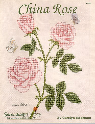 Serendipity Designs - China Rose - Cross Stitch Kit