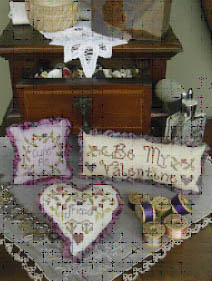Shepherd's Bush - Valentine Trifles - Cross Stitch Pattern