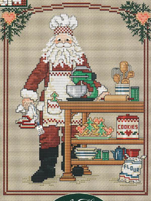 Sue Hillis Designs - Annual Santa - Cookie Santa
