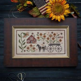 Plum Street Samplers - Sunflower House