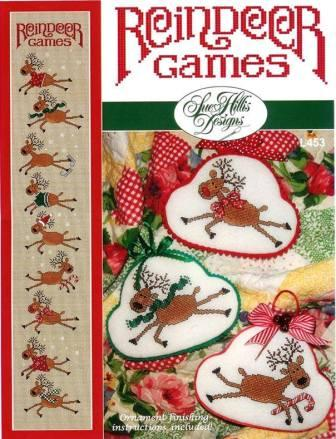 Sue Hillis Designs - Reindeer Games - Cross Stitch Pattern