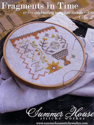 Summer House Stitche Workes - Fragments in Time - No. 2 - Cross Stitch Chart-Summer House Stitche Workes, Fragments in Time - No. 2, Celebrating samplers motifs,  Cross Stitch Chart, smalls,