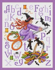 Sue Hillis Designs - Witches Stitches - Cross Stitch Pattern
