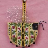 Just Nan - Barnabee in Bloom with Embellishments - Limited Edition Ornament Pinkeep