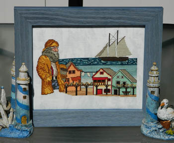 Ship's Manor - Fisherman's Village - Cross Stitch Pattern