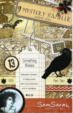 SamSarah Design Studio - Something Wicked - Mystery Sampler - Part 2