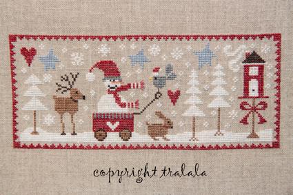 Tralala - Sous la Neige - Cross Stitch Chart