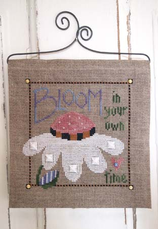 SamSarah Design Studio - Bloom in Your Own Time - Cross Stitch Chart Pack
